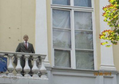 084)В.В.Путин На Приморском бульваре в Одессе